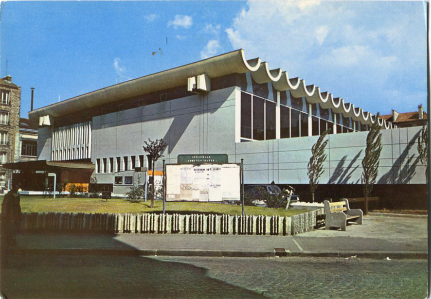 Architectures de cartes postales 1 bouger son corps for Architecture courbe