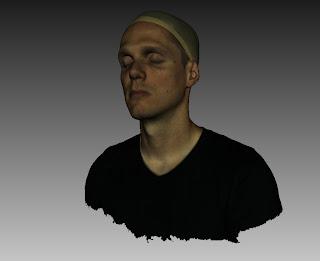 El escáner 3d EVA permite capturar bustos de máxima resolución