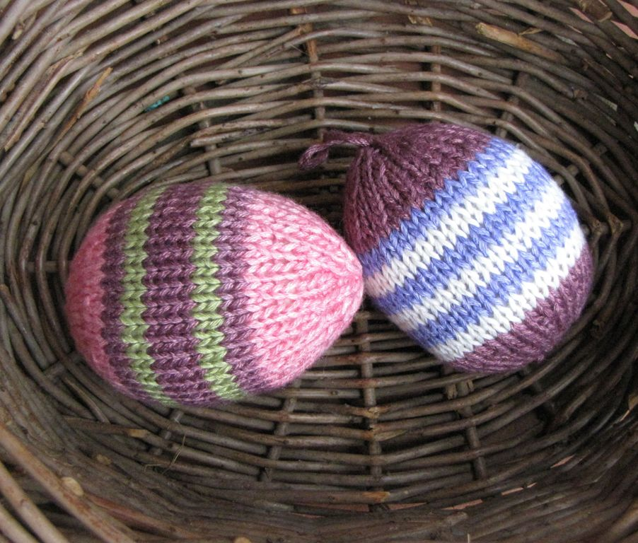 Knitted Easter Eggs Free Patterns : Magic Loop Technique Archives - Natural Suburbia