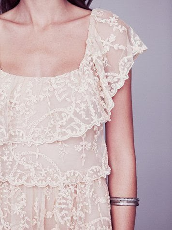 Juliet Affordable Lace Wedding Dress - Free People