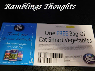 Ramblings Thoughts, Free, Coupons, Samples, Products, Magazines, Eat Well Vegetables, Mail