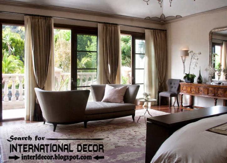 Top trends living room curtain styles, colors and materials, living room curtains