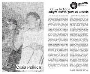 "LA BANDA VENEZOLANA ""CRISIS POLÍTICA"""