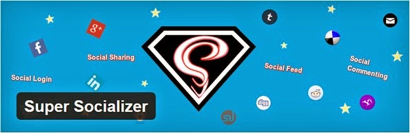 Super Socializer plugin for WordPress