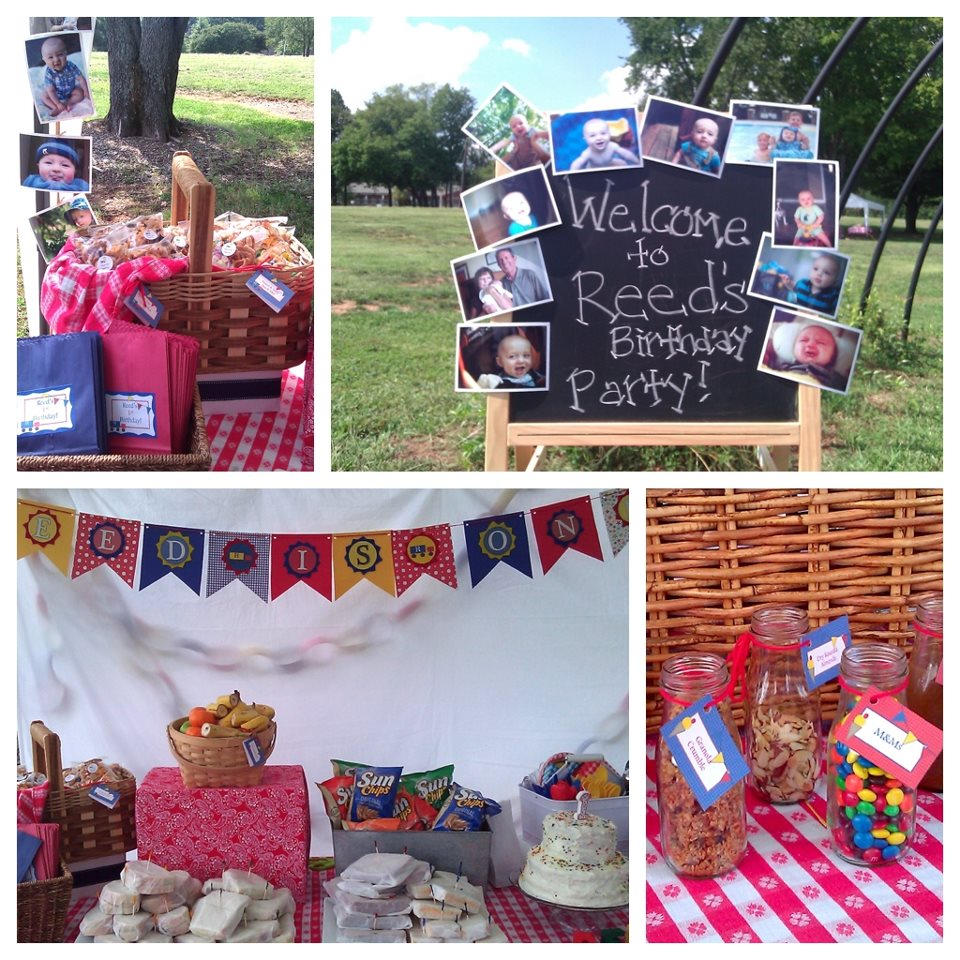 My Everyday Exceptional: Picnic In The Park 1st Birthday
