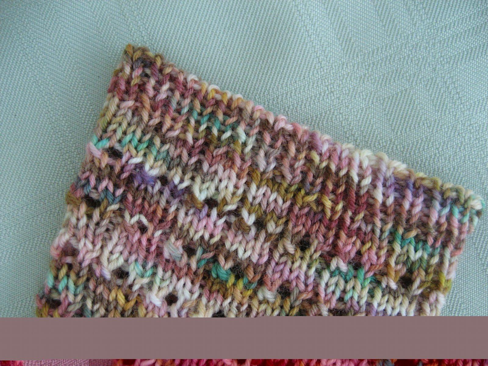 Knit Kitchener Stitch To Finish A Sock : Carolyn Knits: Kitchener Stitch Bind-Off Tutorial