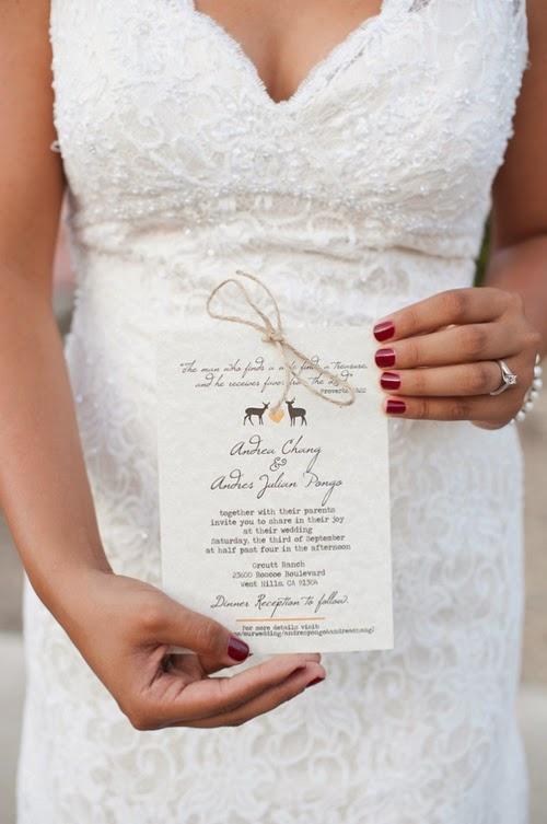 Thiệp cưới dạng Postcard lạ lẫm bắt mắt 5