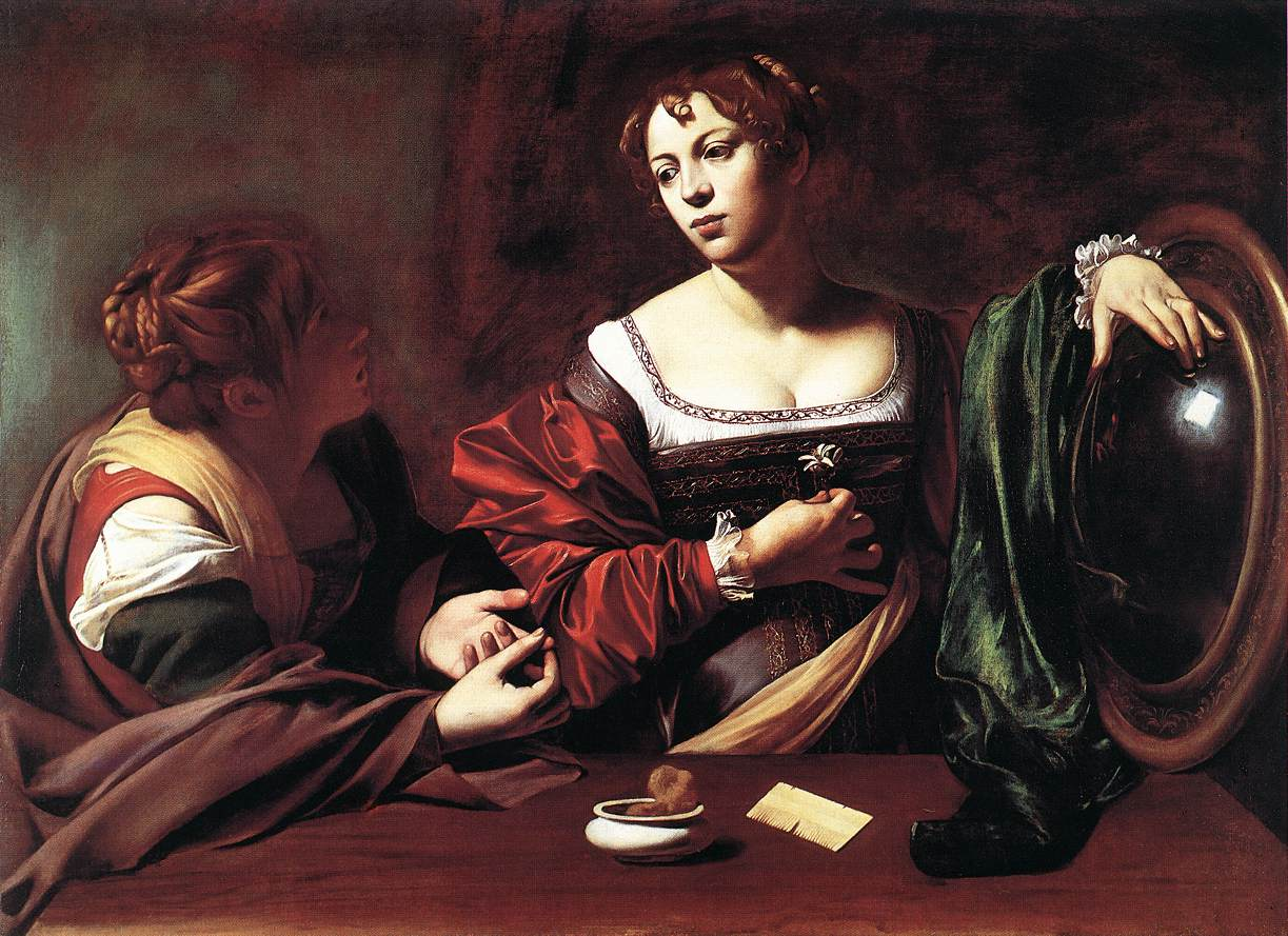 caravage mary magdalene painting