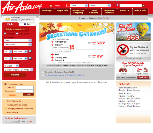 4th Week : Introduction to Air Asia (Part 1) ~ Air Asia