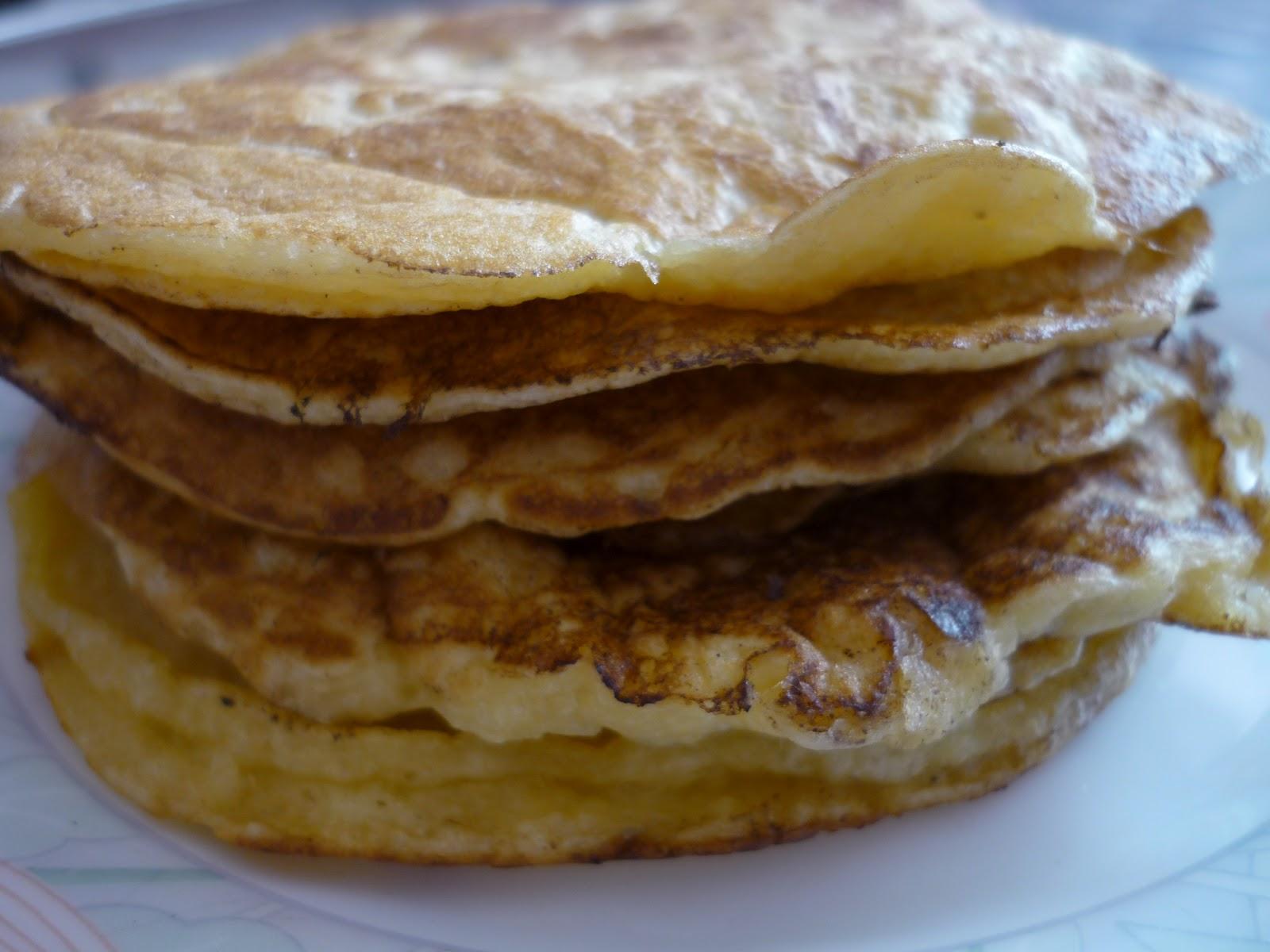 la bonne graille pancakes vanill s sans lait et sans gluten. Black Bedroom Furniture Sets. Home Design Ideas
