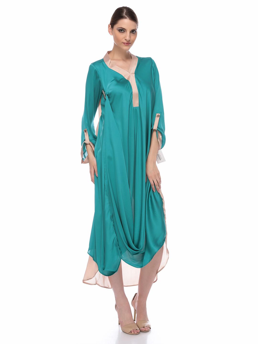 Silk Long Shirts/Kurta Designs 2013 for Girls