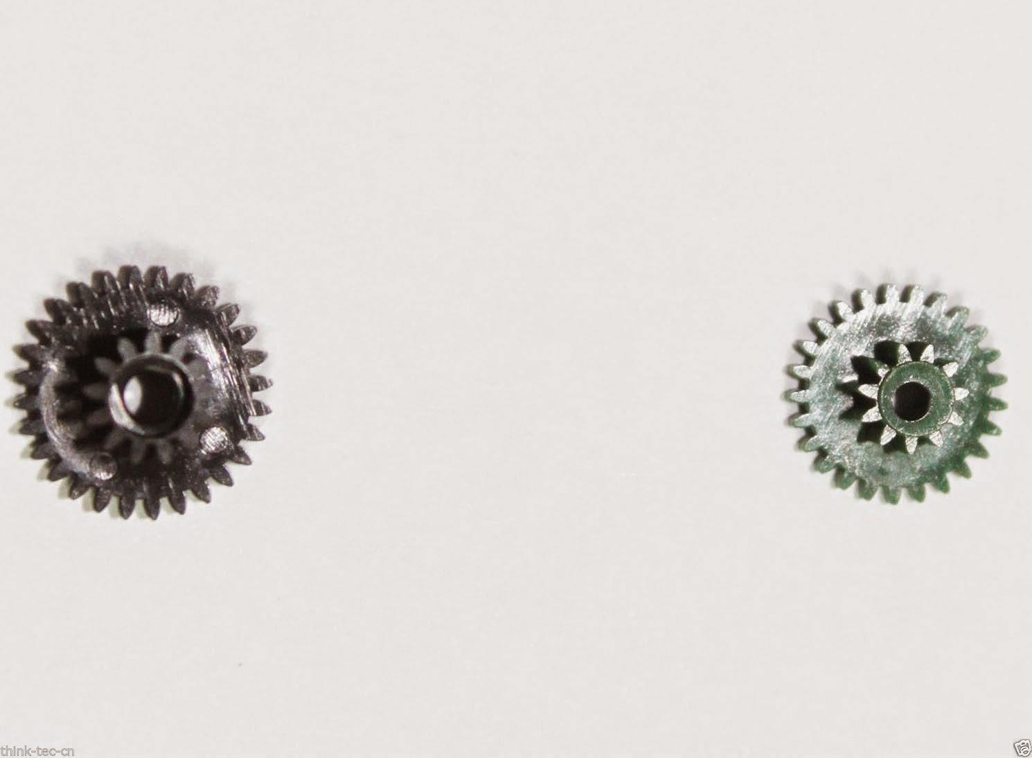 2 Pcs Lens Motor Wheel Gear Kit Repair Part for Canon EF-S 18-55mm IS II 2nd Gen