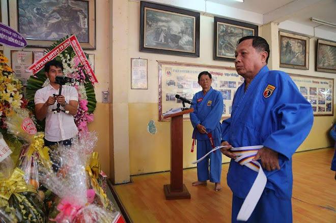 Võ Sư Chánh Chưởng Quản - Nguyễn Văn Chiếu, 10 Dang - SUCCESORUL MARELUI MAESTRU,PATRIARH   LE SANG