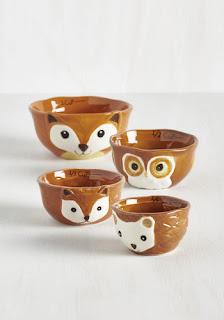 Fox measuring cups
