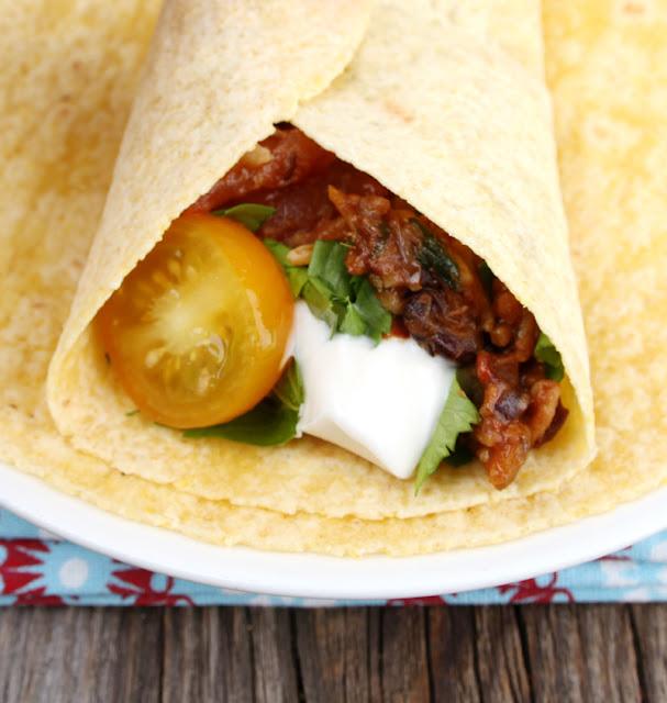 Oppskrift Kjøttfri Taco Tacofyll Bønner Ris Sjampinjong Sopp Hjemmelaget Tacokrydder