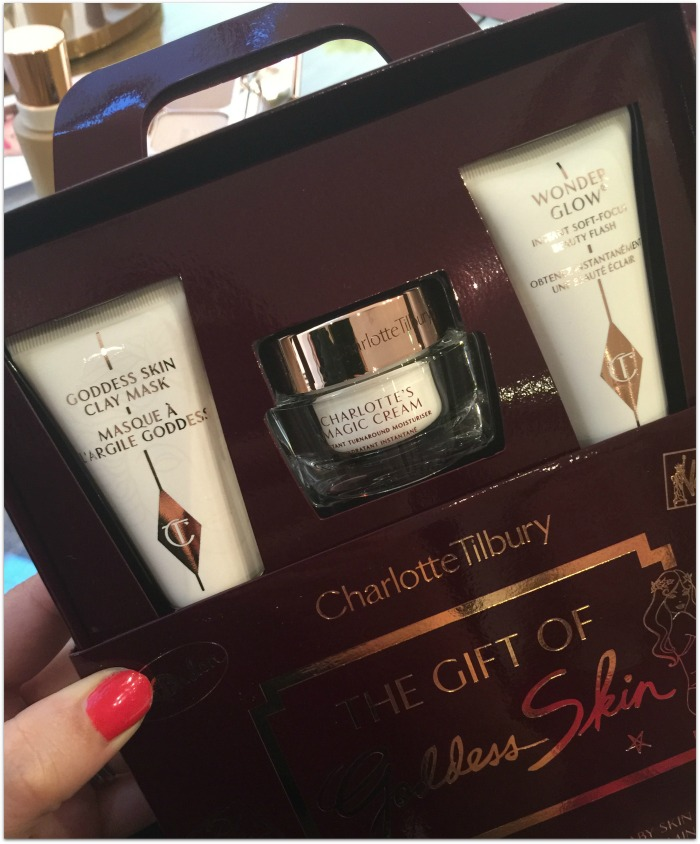 Charlotte Tilbury Travel Goddess Skin set
