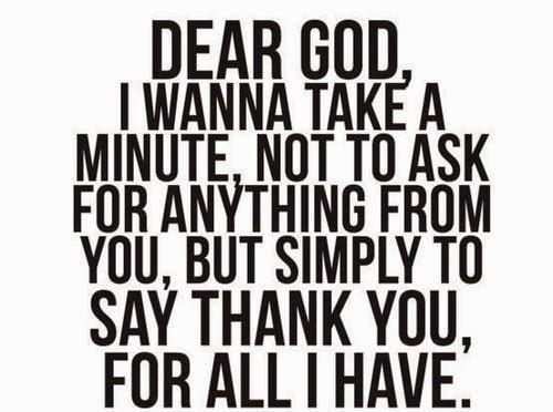 Terima kasih ya Allah