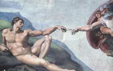 Creación de Adán, Miguel Ángel