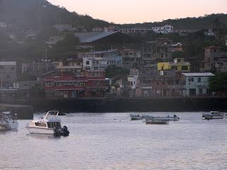 View on the Way to Galapagos Eco-Lodge Hotel on San Cristobal