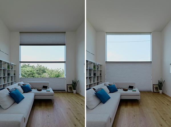 Hogares frescos compacto minimalista tranquilidad for Casa minimalista rectangular