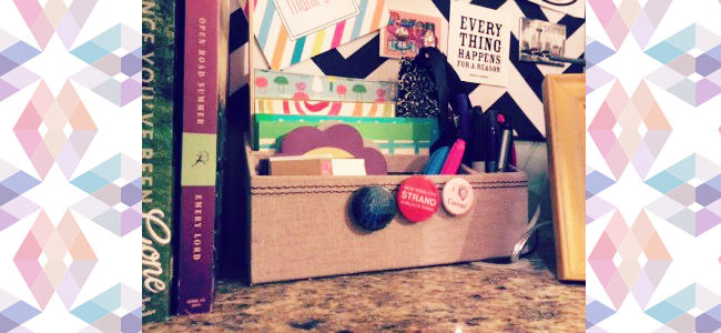 Creative Spaces GReads Desk Closeup