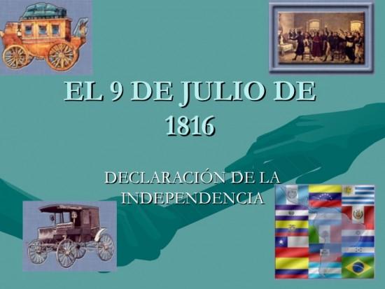 En el Bicentenario de la Declaración de la Independencia