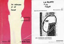 """REVISTA LITERARIA """"LA SIERPE Y EL LAÚD"""""""