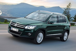 2012 Volkswagen Tiguan SUV can be ordered in two different versions