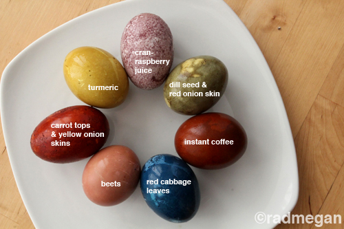 Kanelstrand: Weekend DIY: Naturally Dyed Easter Eggs