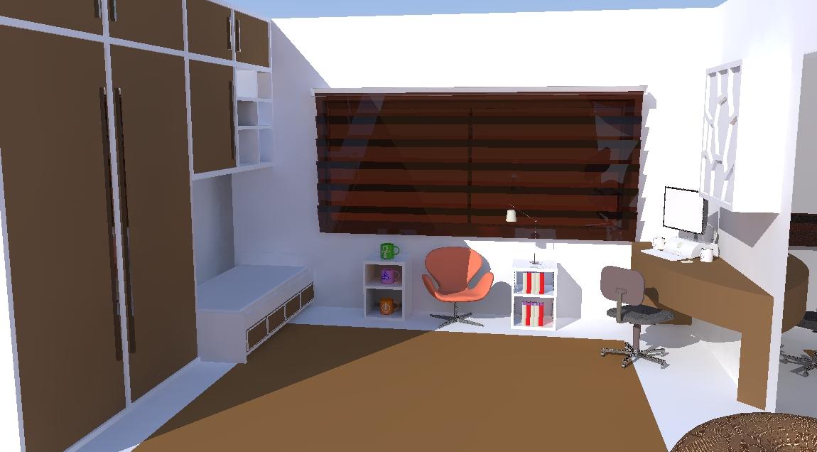 espaço arquitetura Quarto de solteiro ~ Quarto Solteiro Arquitetura