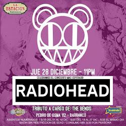 Tributo a Radiohead (celebrando su presentacion en Lima)