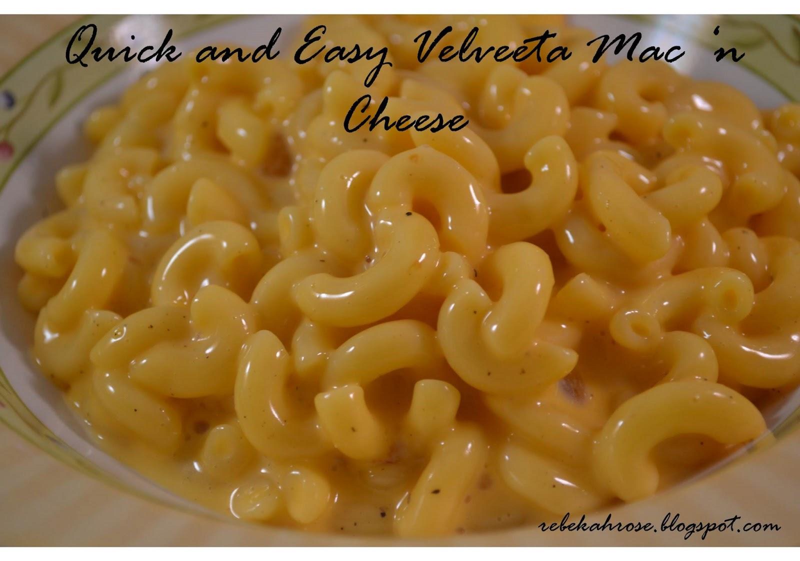 Quick Macaroni And Cheese Recipe — Dishmaps
