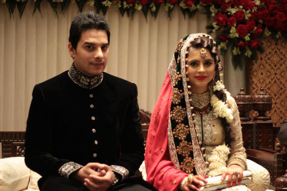 Kanwal and hamza wedding
