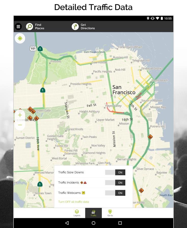 Для gps программу по навигации карте