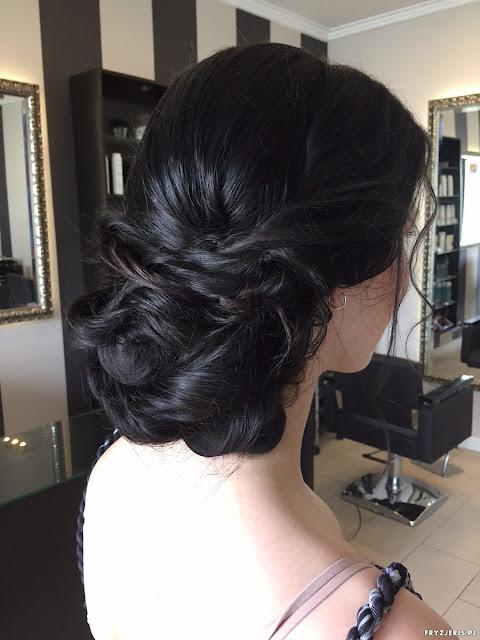 fryzura ślubna fryzjeris
