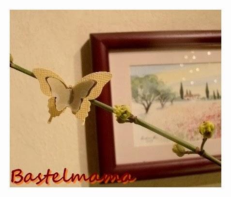 Stanze Mini-Schmetterling und Eleganter Schmetterling