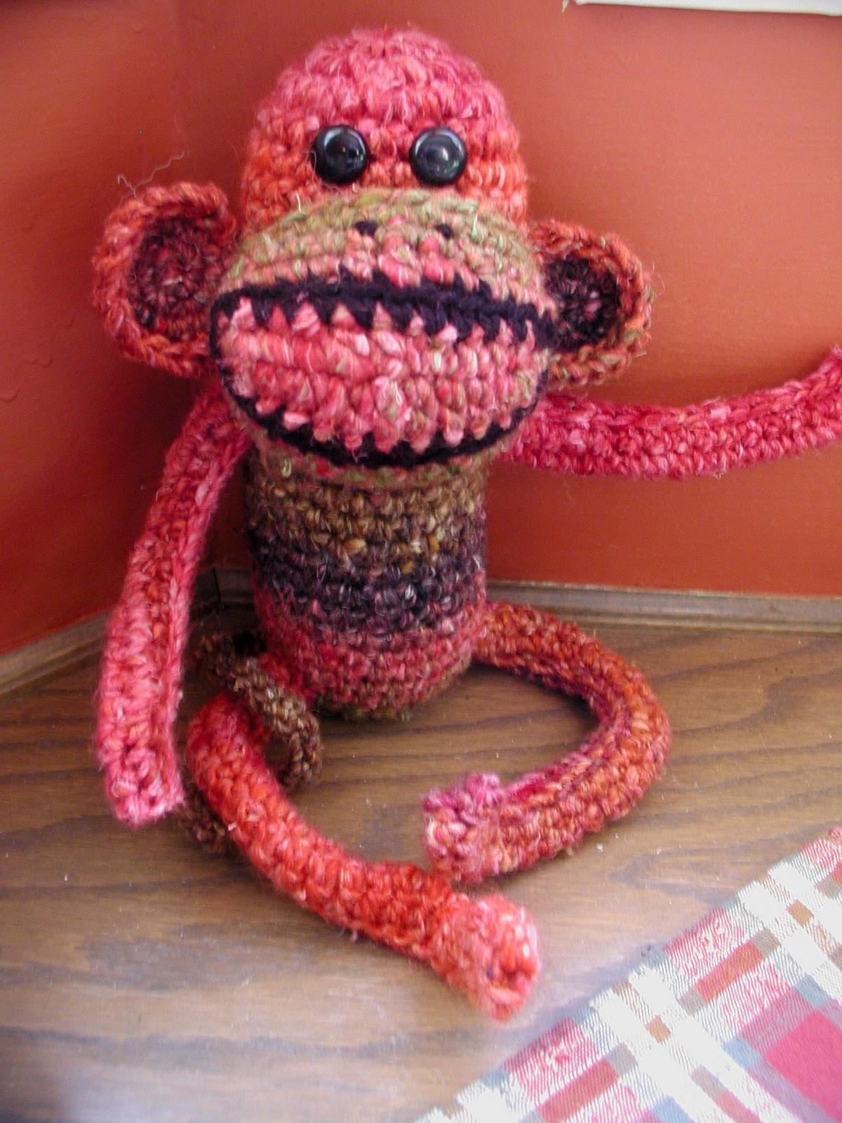 Fiddlesticks - My crochet and knitting ramblings.: Monkey, Booties ...