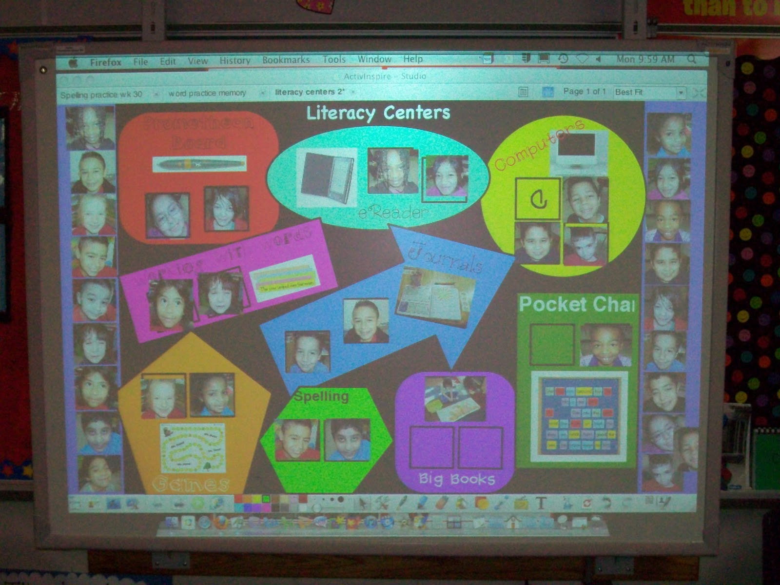 Simply 2nd Resources: Literacy Centers Organization
