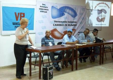 Entre los invitados especiales destacó la ex magistrada del tribunal Supremo de Justicia, Blanca Rosa Marmol de León