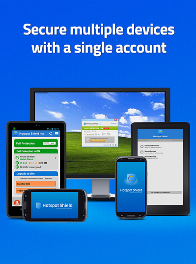 Hotspot Shield VPN For Unblock