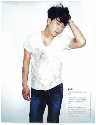 Big Bang News Seungri+singles+magazine+barefoot+campaign