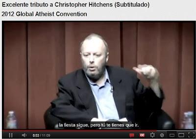 Homenaje a C. Hitchens, GAC 2012