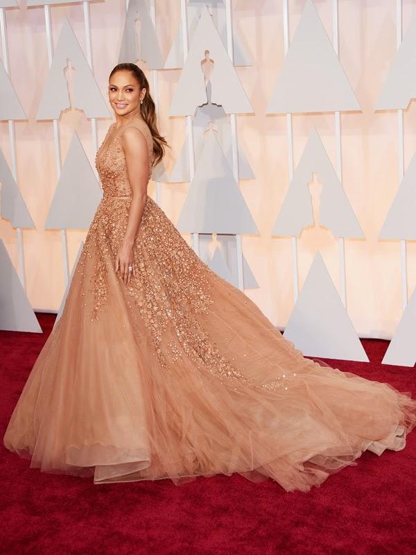 Jennifer Lopez Elie Saab Oscars