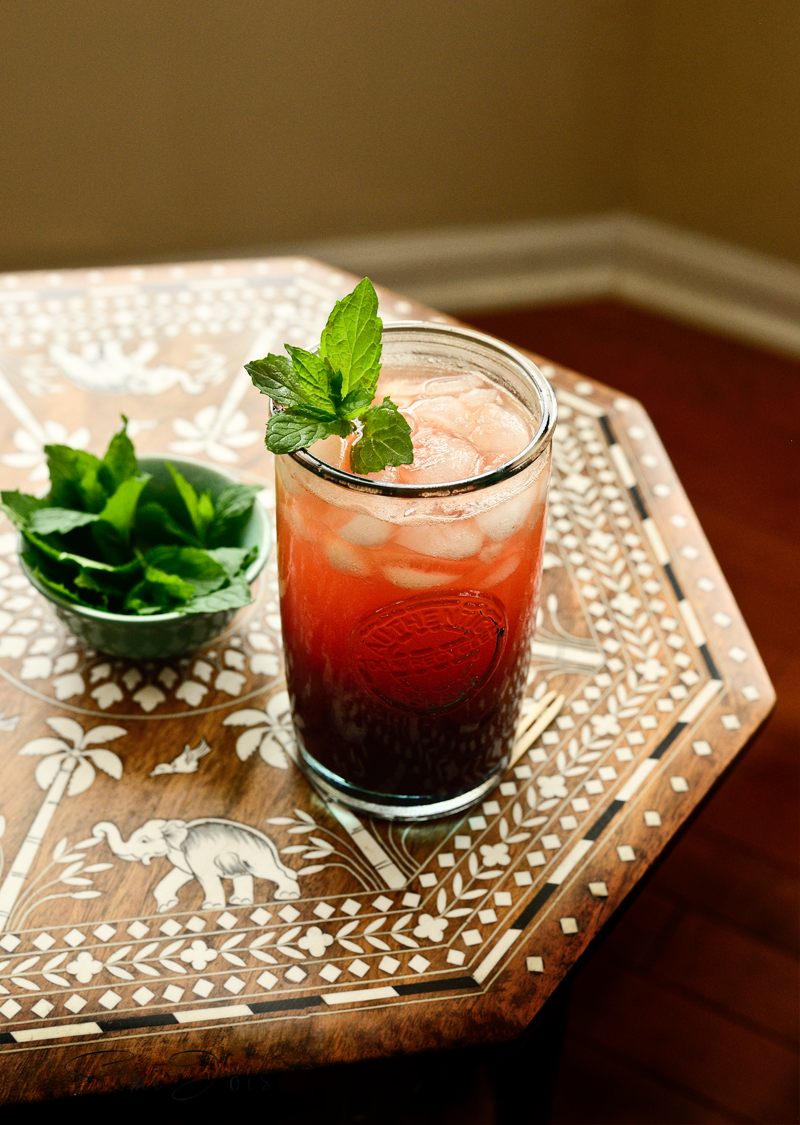 Watermelon, berries and orange mocktail, Mocktail, recipe, food photography, summer drinkr, cooler, non alcoholic, beverage