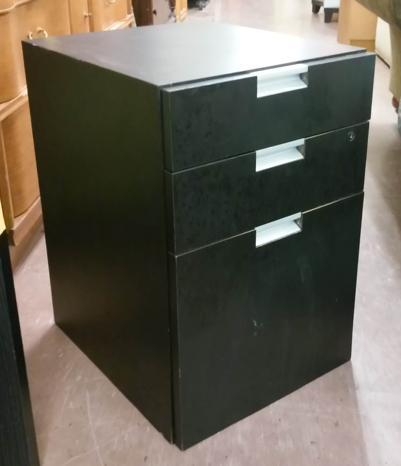 Uhuru Furniture Collectibles Sold Black Office End