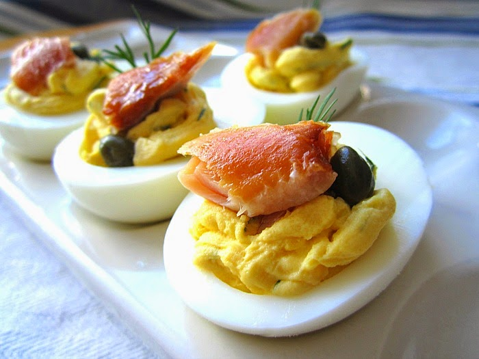 am obsessed with deviled eggs i love eggs any which way but there is ...