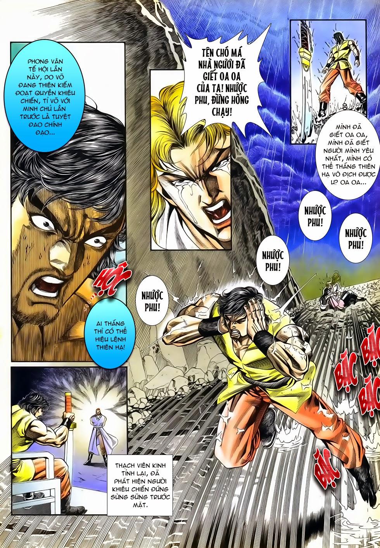Long Hổ Phong Bạo chap 4 - Trang 9