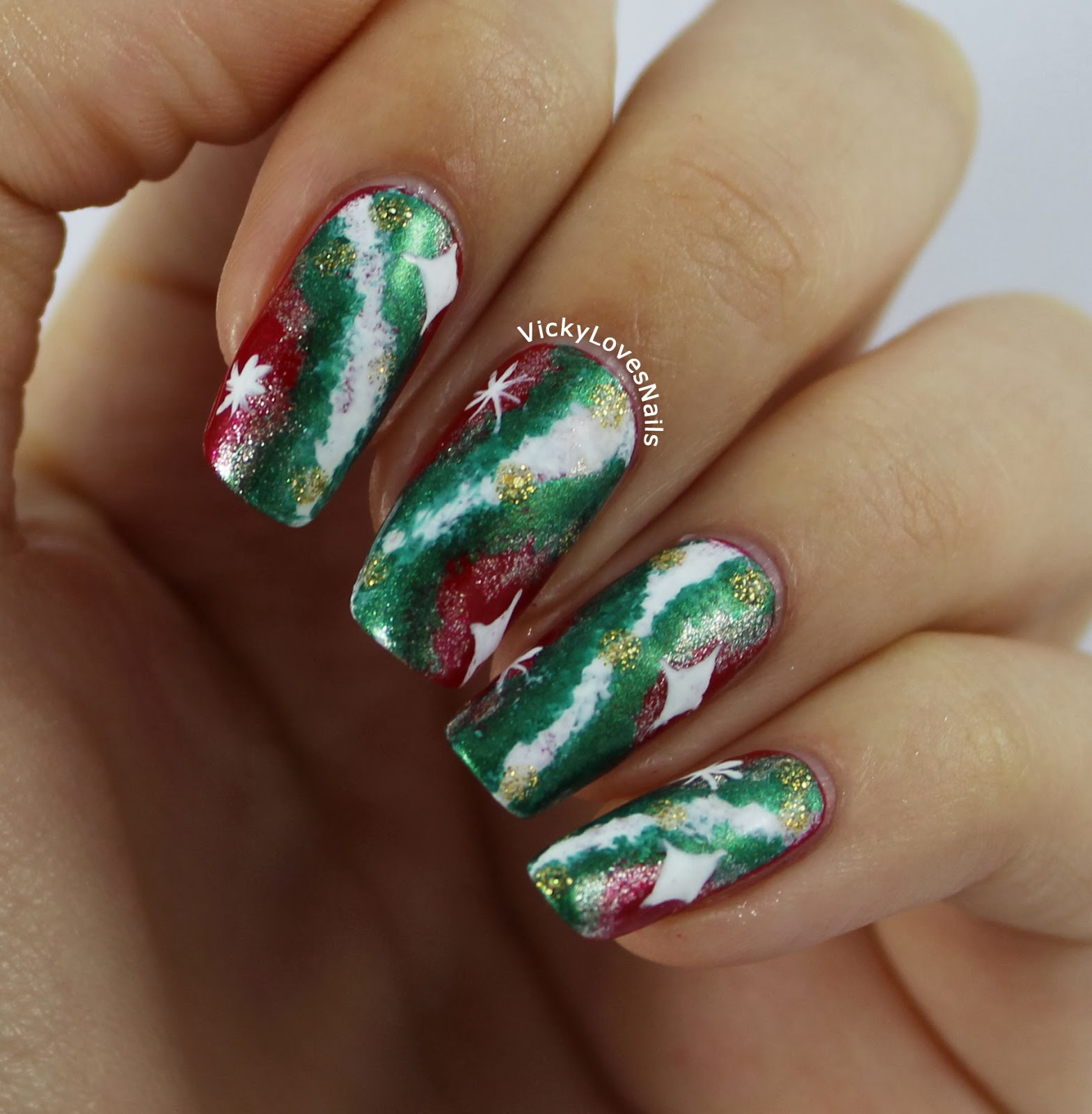 Vicky Loves Nails!: 12 Days Of Christmas Challenge: Day 12 ...