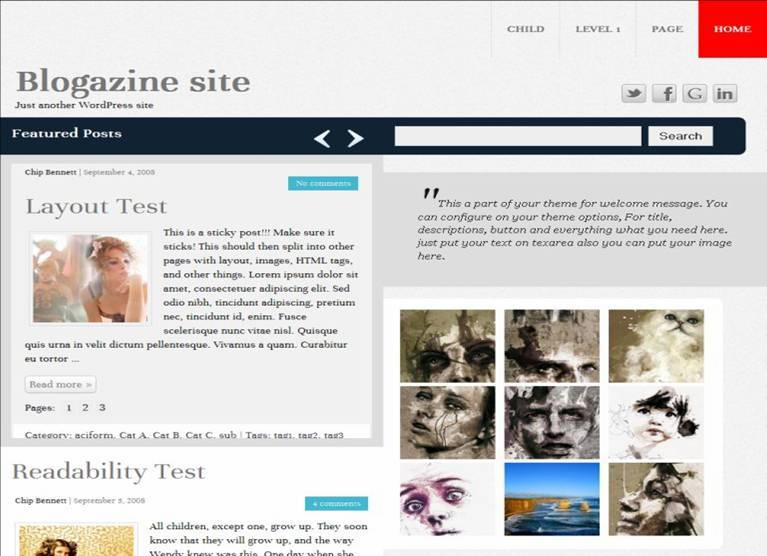 krakatau wordpress theme