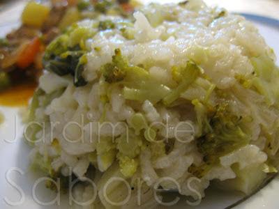 Arroz de Brócolos